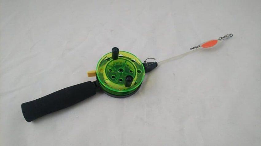 Satsa på att fiska med ett pimpelspö